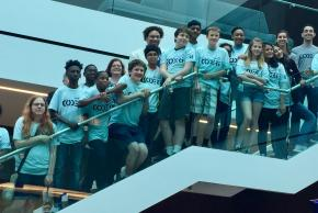 The Capital One Coders that participated in our Spring Showcase.